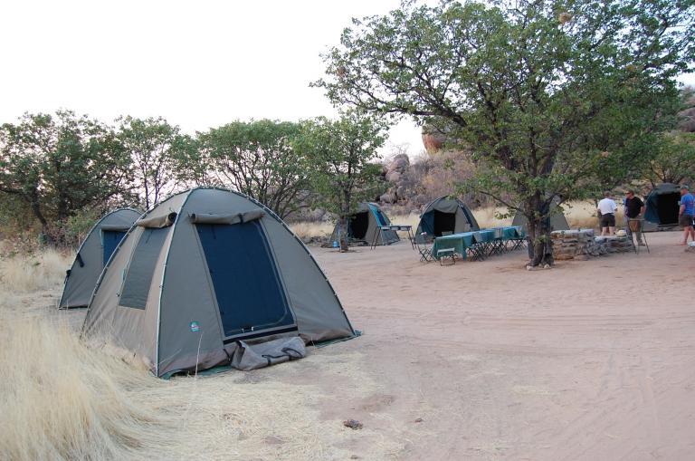 Canvas Komfort Zelt von Kiboko Adventures