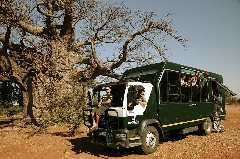 Reisen und Safaris mit Drifters Adventure Tours