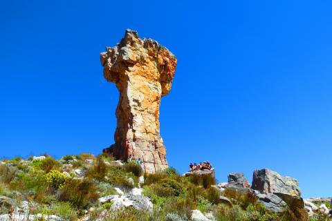 Cederberge in Südafrika auf dem Reiseweg in Richtung Namibia