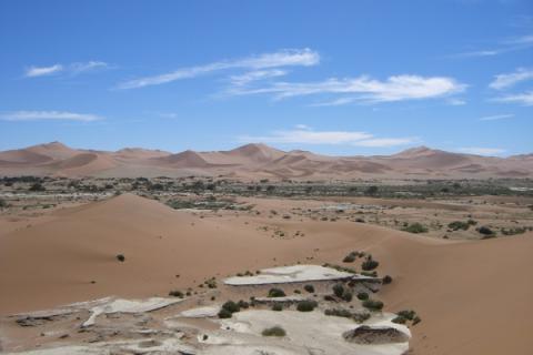 Namib Wüste - Sossusvlei
