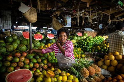 Markt in Nairobi