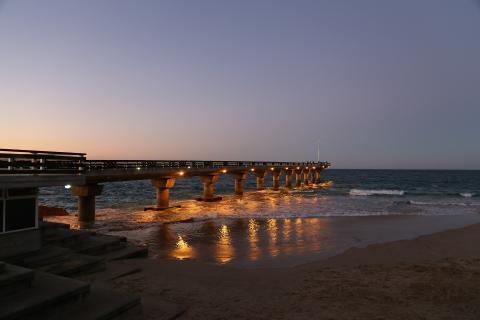 Port Elizabeth Sonnenuntergang