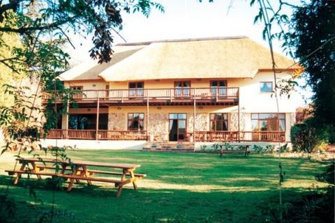 Greenfire Johannesburg Lodge - Ansicht vom Garten aus