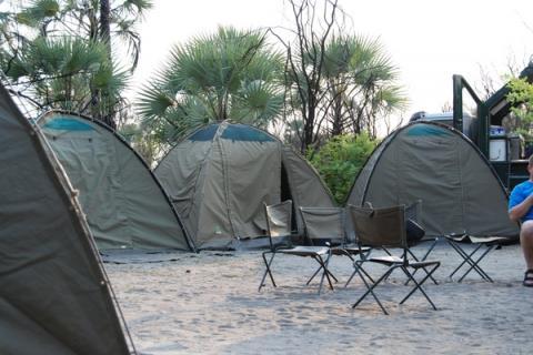 Drifters Adventure Tours Camping Canvas Zelte für die Nacht