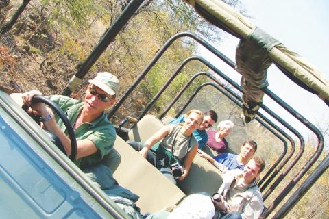 Game Drive in Simbabwe