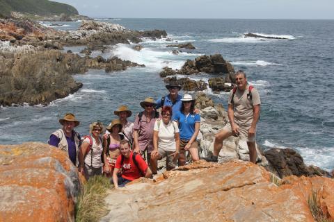 Drifters Adventure Safari: Wanderung auf dem Otter Trail entlang der Gardenroute Südafrika