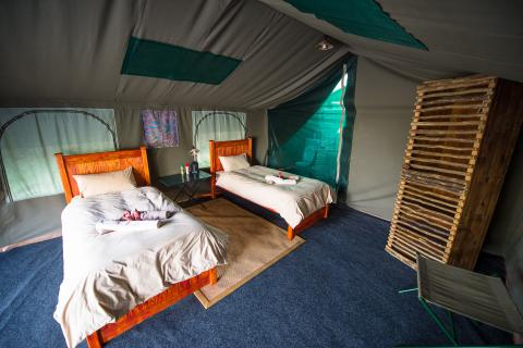 Hyeana Pan Tented Camp im Moremi Game Reserve
