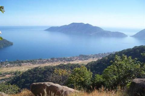 Blick über den Lake Malawi