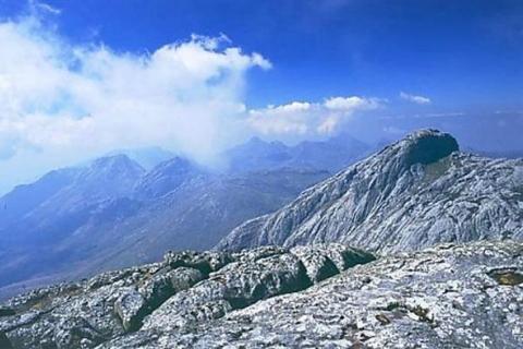 Gipfel des Mulanje Massiv Gebirgszugs in Malawi