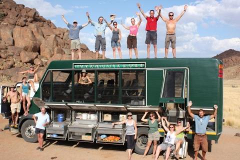 Safari Truck für die Camping Safari & Abenteuerreise durch Namibia