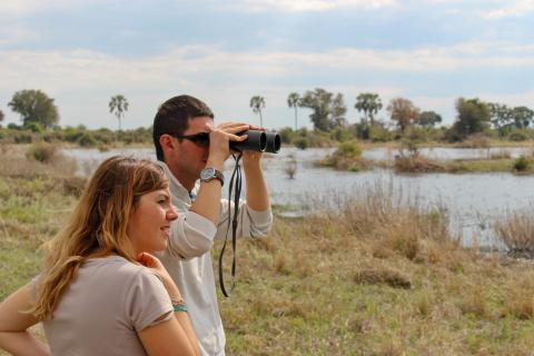 Tierbeobachtungen während der Rundreise im einmaligen Okavango Delta