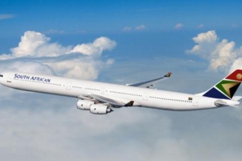 Flug mit Southafrican Airways nonstop von Johannesburg nach Deutschland