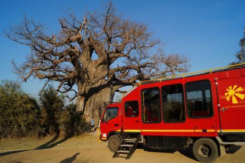 Sunway Safaris Truck in Namibia