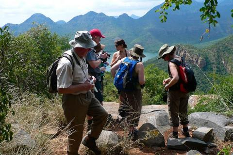 Wandergruppe in Mpumalanga
