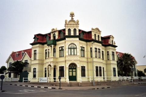 Wörman Haus, das Wahrzeichen von Swakopmund / Namibia