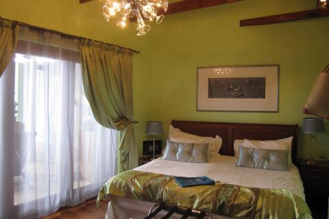 Sweetest Guesthouse in Kapstadt: Blick in das Zimmer
