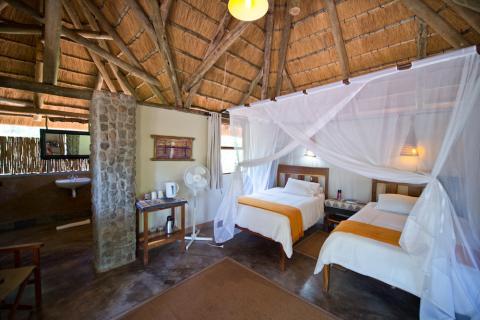 Nunda River Lodge - Zimmer Innenansicht