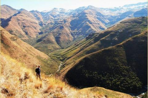 Wandern in Lesotho
