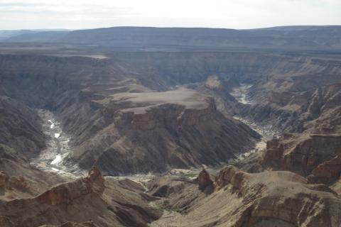 Fish River Canyon Namibia im Panorama