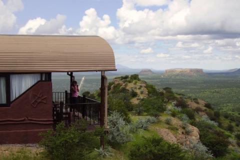 Blick von der Ugab Terrace Lodge