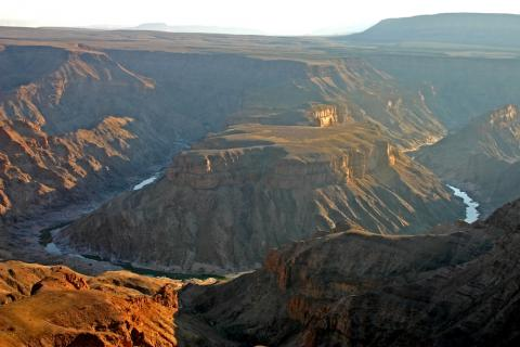 Panorama des Fish River Canyons