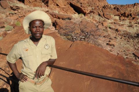 Guide von Sunway Safaris in Twyfelfontein