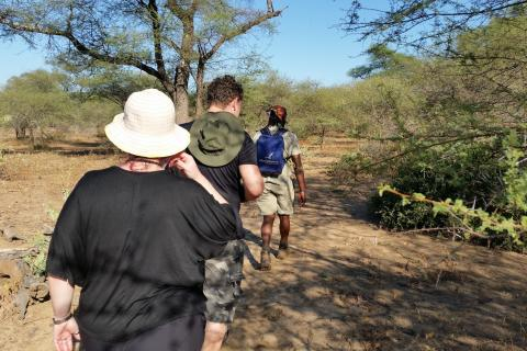 Walking Safari: Pirsch zu Fuss im Save River Game Reserve Simbabwe