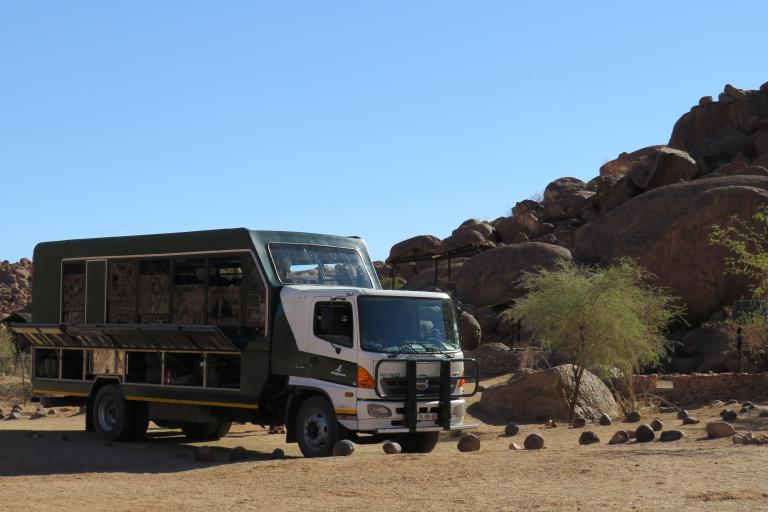 Drifters Adventours Safari Expeditionstruck in Namibia