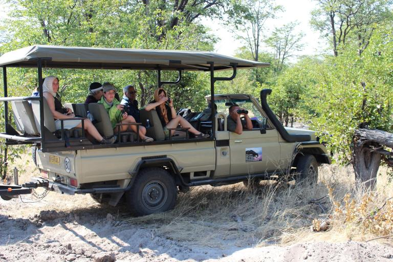 Landcruiser von Kiboko im Moremi Game Reserve