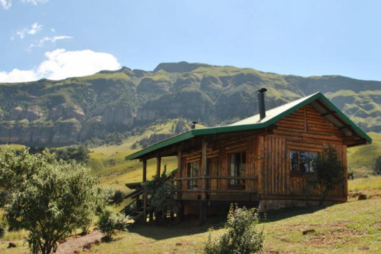 Lodges Safari mit Drifters Reisen in der Greenfire Drakensberg Lodge in Südafrika