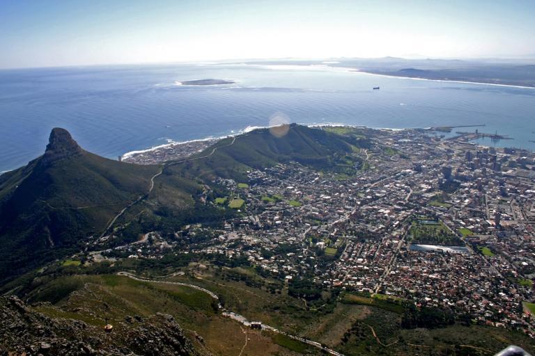 Kapstadt in Südafrika: Lionshead und Tafelberg
