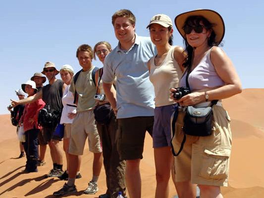 Gruppenreise für Alleinreisende nach Afrika: Walkingsafari Namib Wueste