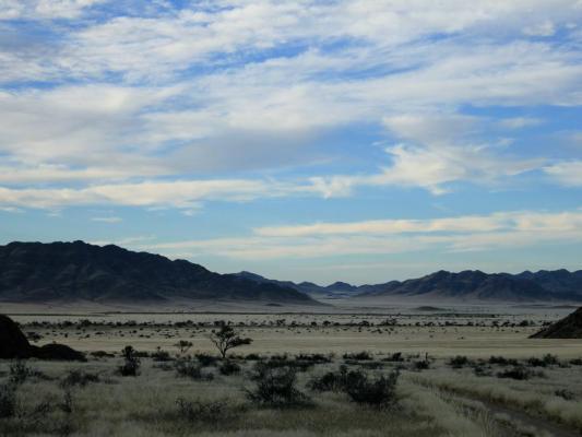 Drifters Greenfire Desert Farm Panormama
