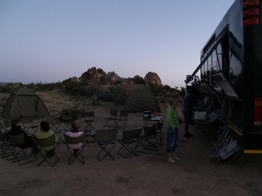 Wüsten Farm in Namibia