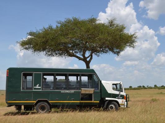Camping Safari in der Serengeti. Mit Drifters Safari im Safaritruck in Tansania