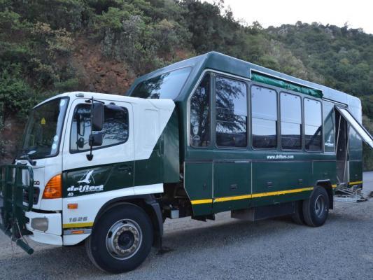 Drifters Safari Truck in Tansania