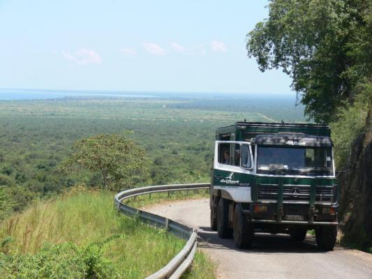 Mittagspause auf Safari: Picknichk nahe des Drifters s
