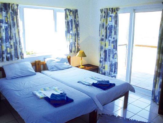 Zimmer mit Blick aufs Meer in der Greenfire Dolphin Coast Lodge