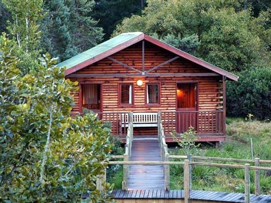Drifter Greenfire Knysna Lodge - Blick auf ein Haus