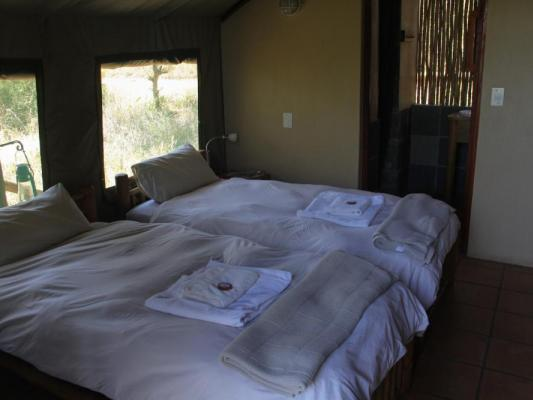 Zimmer der Drifters Greenfire Game Lodge