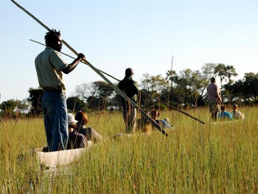 Kanu Touzr mit dem Mokorokoro: Kanusafari im Okavango Delta