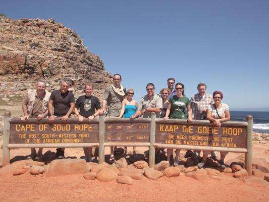 Besteigung des Tafelbergs: Wanderung auf den Berg in Kapstadt