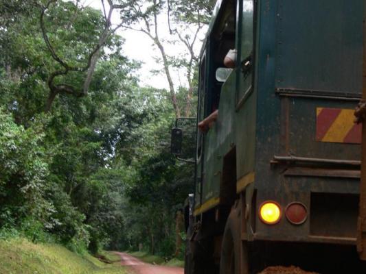 Fluss Kreuzfahrt auf dem ugandische Teil des Nils: Hier treffen Victoria und Alberts Nil zusammen