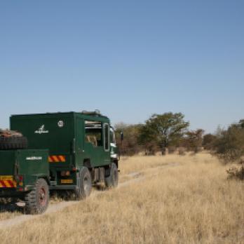 Fahrzeuge und Safaris Trucks auf unseren Afrika Reisen