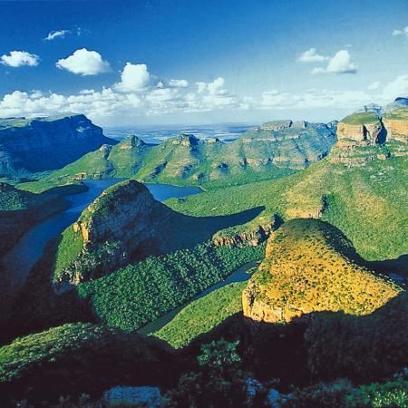 Höhepunkte Südafrikas: Blyde River Canyon nahe Hazyview