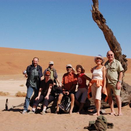 16-tägige Reise nach Südafrika und Namibia: Ein Höhepunkt ist der Besuch der Namib Dead Vlei