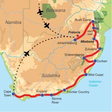 Südafrikas Highlights