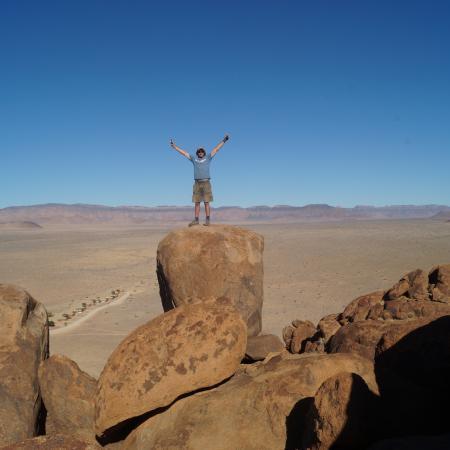 Kleingruppenreise durch Namibia und zu den Victoriafällen mit Spitzkoppe einem der Reisehöhepunkte